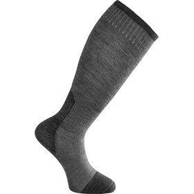 Woolpower Skilled Liner Knee-High Calcetines, dark grey/grey